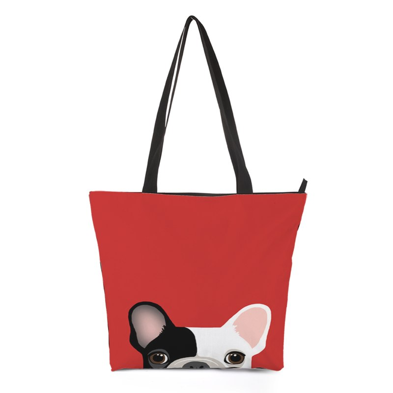 Puppy Dog Tote Bag Style 1