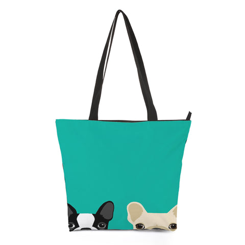 Puppy Dog Tote Bag Style 7