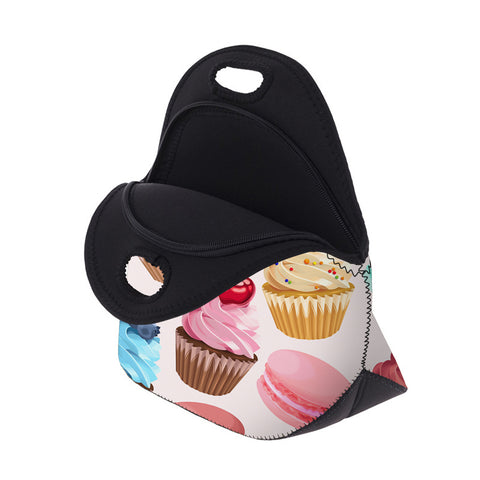 Open Cupcake Lunch Bag