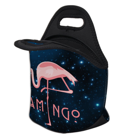 Open Star Flamingo Lunch Bag