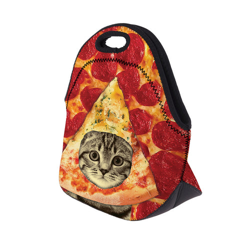 Side of Pizza Cat Lunch Cooler