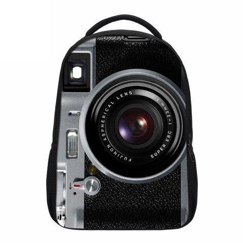 Old School Retro Camera Backpack
