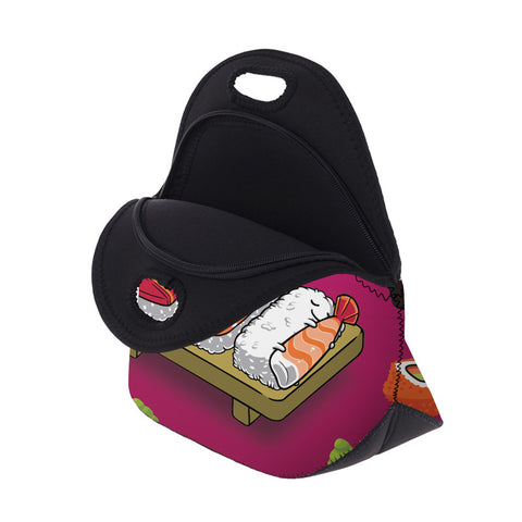 Open Sushi Print Lunch Bag