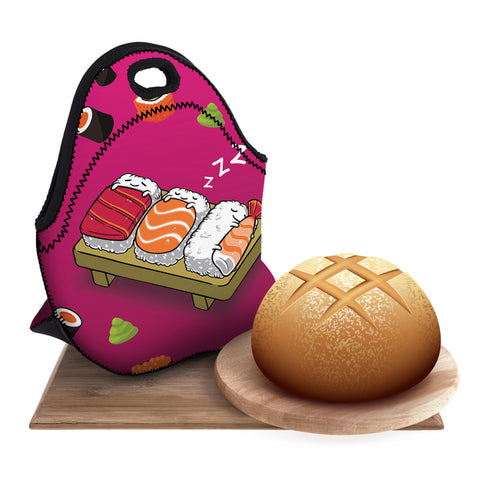 Cartoon Sushi  Lunch Bag