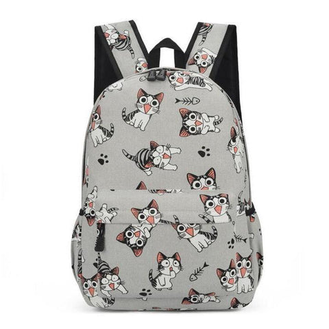 Chi's Anime Cat Pattern Backpack