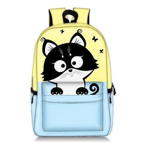 Two-Tone Kitty Backpack