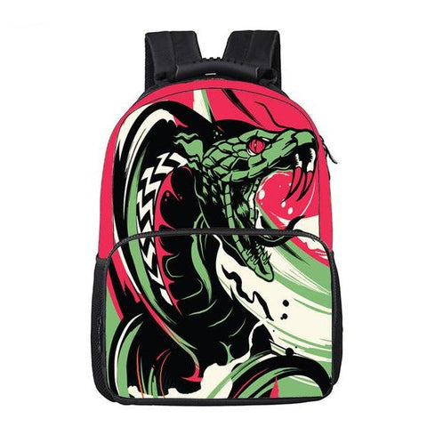 Abstract Cobra Backpack