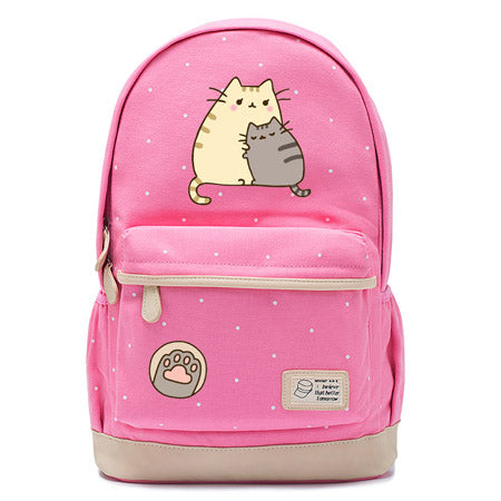 Pink Pusheen Cat Backpack Style 2