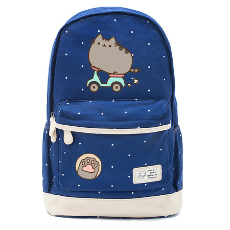 Navy Pusheen Cat Backpack Style 3