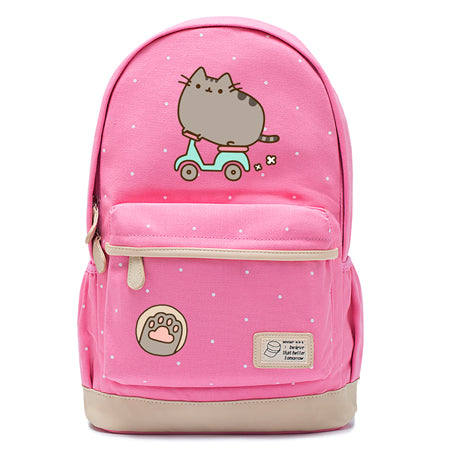 Pink Pusheen Cat Backpack Style 3