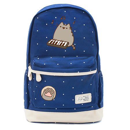 Navy Pusheen Cat Backpack Style 5