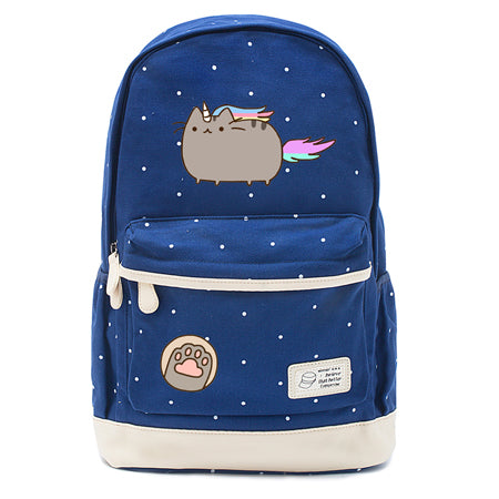 Navy Pusheen Caticorn Backpack Style 6