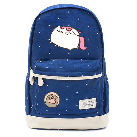 Navy Pusheen Caticorn Backpack Style 7