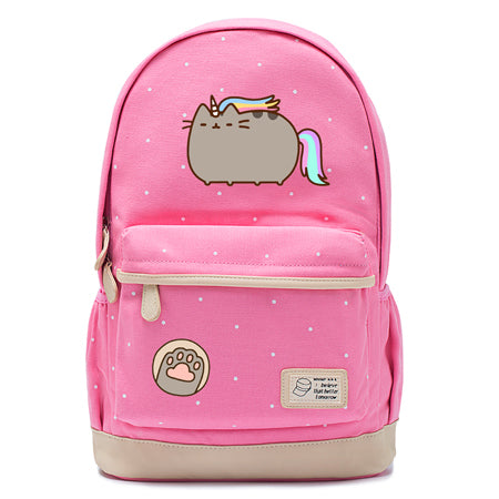 Pink Pusheen Cat Backpack Style 8