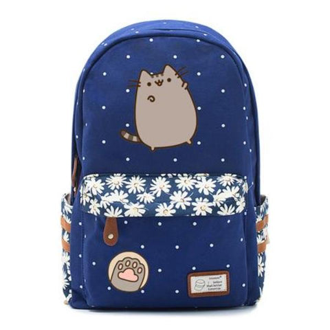 Navy Pusheen Cat Bag Style 1