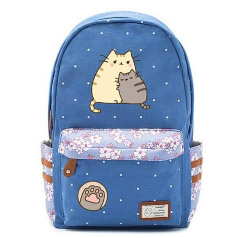 Blue Pusheen Cat Bag Style 2