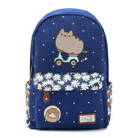 Navy Pusheen Cat Bag Style 3