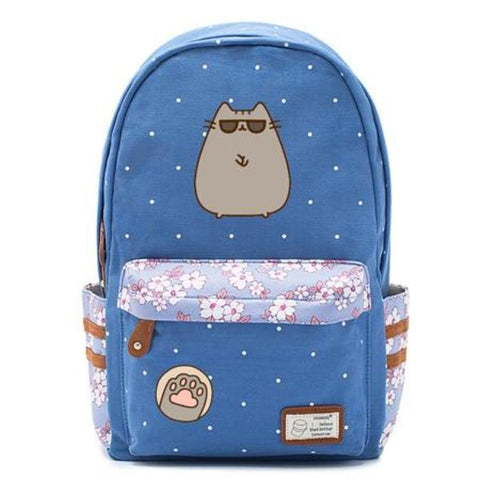 Blue Pusheen Cat Bag Style 4