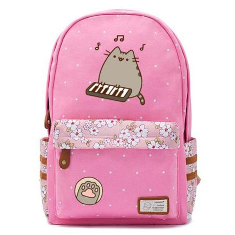 Pink Pusheen Cat Backpack Style 5