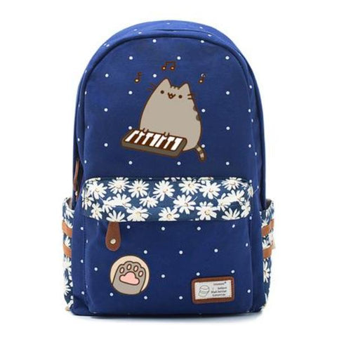 Navy Pusheen Cat Bag Style 5
