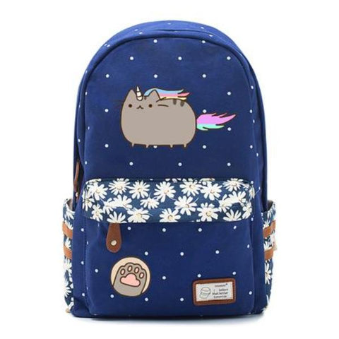 Navy Pusheen Cat Bag Style 6