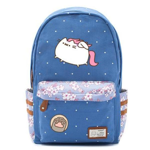 Blue Pusheen Cat Bag Style 7