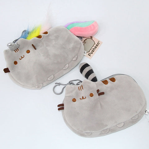 "Plush Pusheen Cat Pencil Case Bag (8"")"