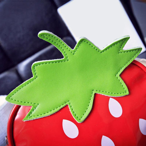 Strawberry Handbag Closeup