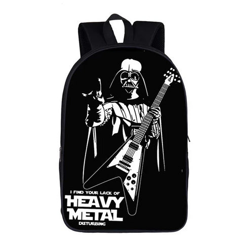 Funny Heavy Metal Music Backpack 16heavymetal10