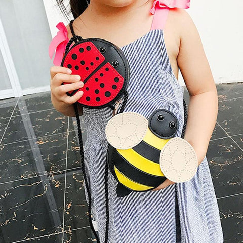 Mini Bee / Ladybug Purse