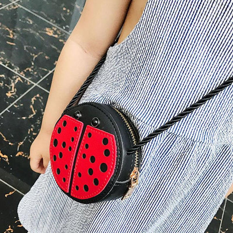 Mini Ladybug Shoulder Bag