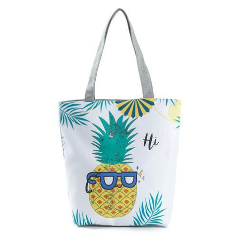 Pineapple Tote Bag Style 1