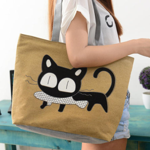 Cartoon Kitty Cat Shoulder Bag Model