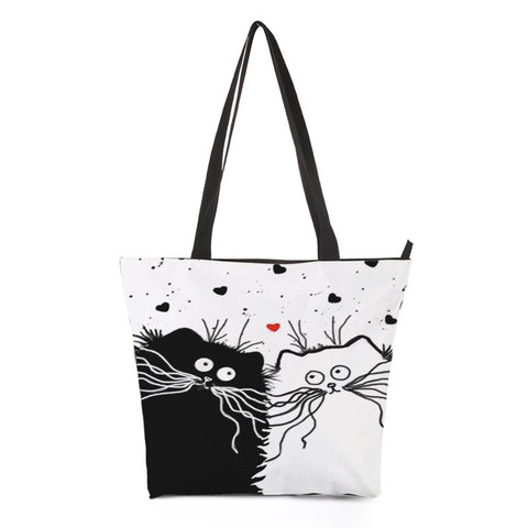 Kitty Cat Shopping Bag Style 3