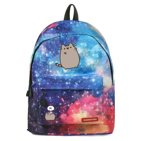 "Cosmic Pusheen Cat In Space Backpack (16"")"