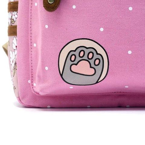 Pusheen Cat Backpack Closeup 1