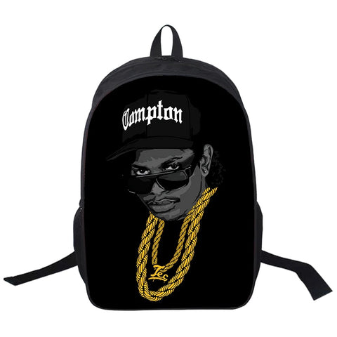 "Hip-Hop Rap Legends Backpack (17"") Eazy-E 2"