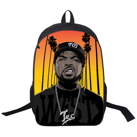 "Hip-Hop Rap Legends Backpack (17"") Ice Cube 2"