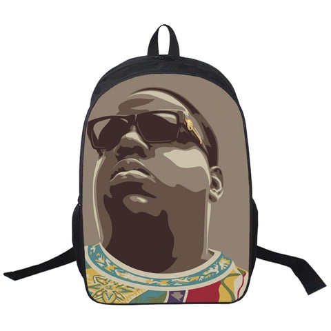 "Hip-Hop Rap Legends Backpack (17"") Notorious BIG"