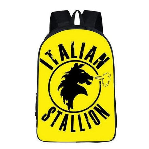 Yellow Italian Stallion Backpack