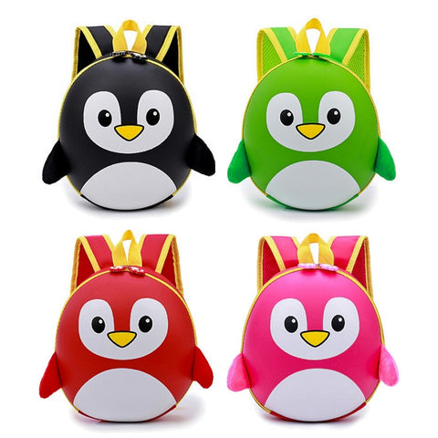 Kids / Toddler Hard Shell Penguin Backpack
