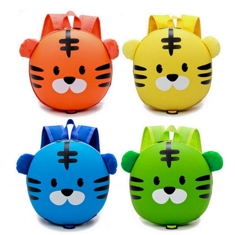 Kids / Toddler Hard Shell Anti-Lost Tiger Backpack
