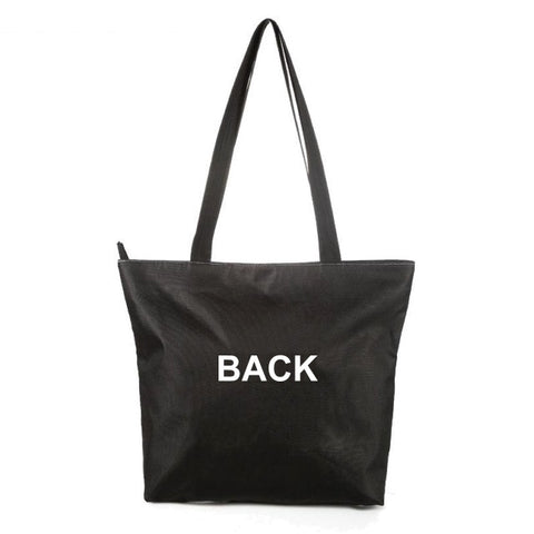 Tote Bag Rear