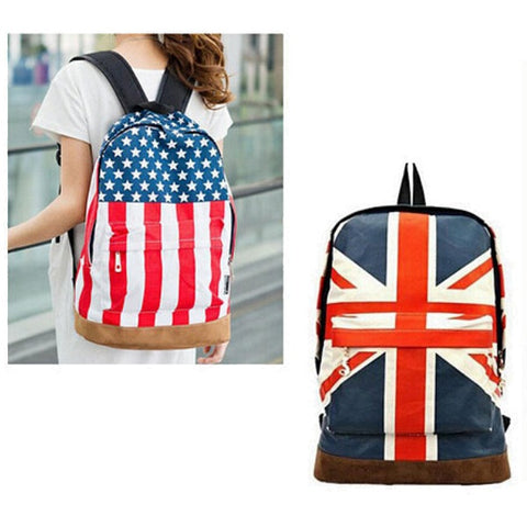 UK / USA Flag Design Backpack