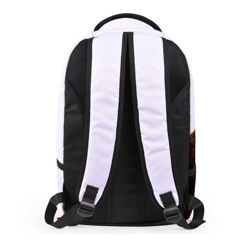 Back of Video Game Backpack