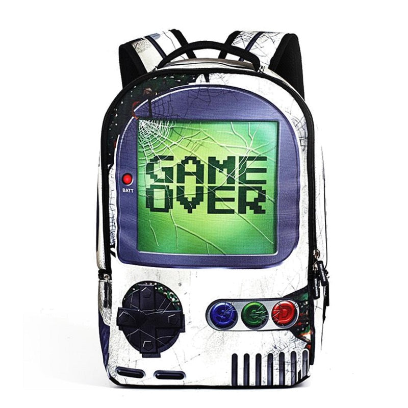 Game Over Video Game System Backpack