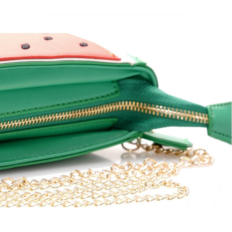 Watermelon Shoulder Bag Closeup