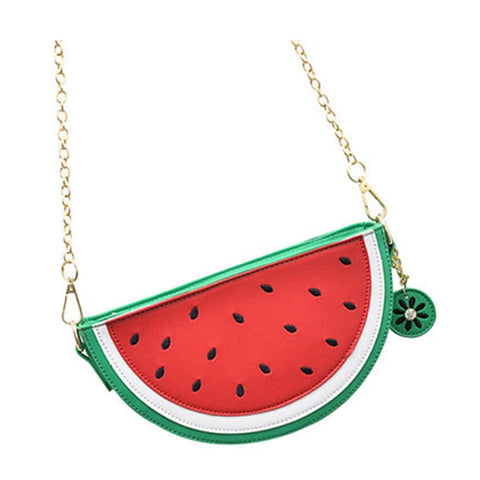 Mini Watermelon Purse / Shoulder Bag