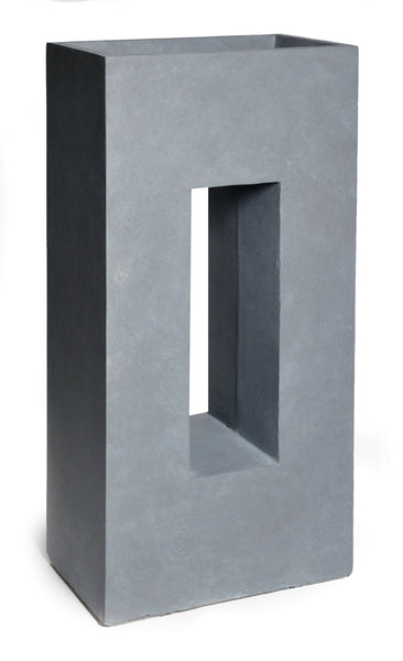 Clayfibre Partition Window AuthGrey L45W27H96