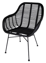 Chair Florence Black L64W63H90